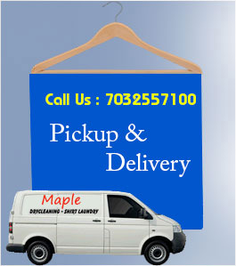 Dry Cleaners Pickup Delivery Service
