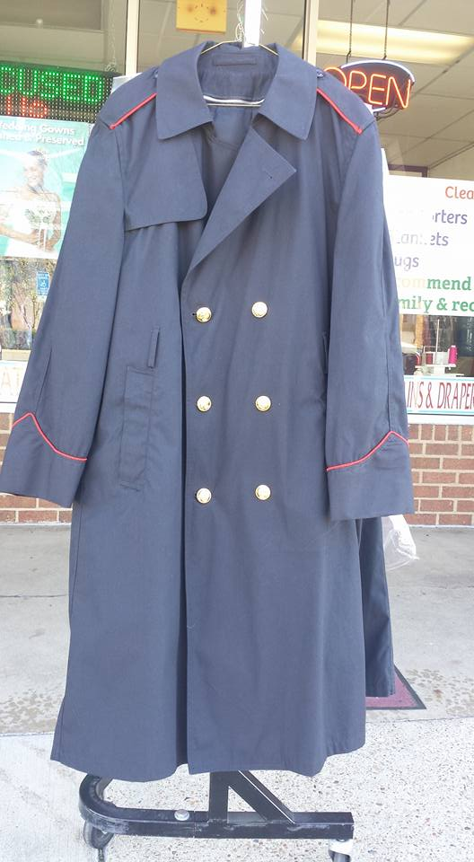 US Navy Blue All Weather Overcoat